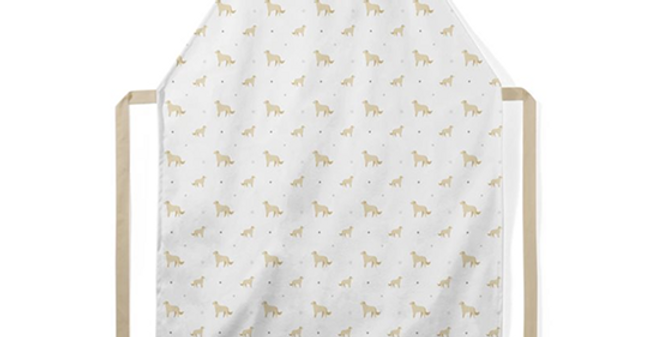 Grey Ultra Suede Apron - Goldens Galore