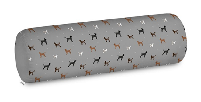 Big Bolster Cushion - Poodles