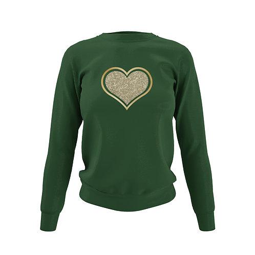 Bottle Green Sweatshirt - Customise Me!