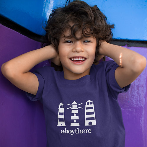 Boys Ahoy! Lighthouse T-shirt