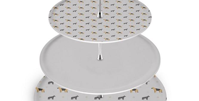 Grey Cake Stand - Smart Shepherds