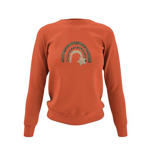 Burnt Orange Sweatshirt - Customise Me!
