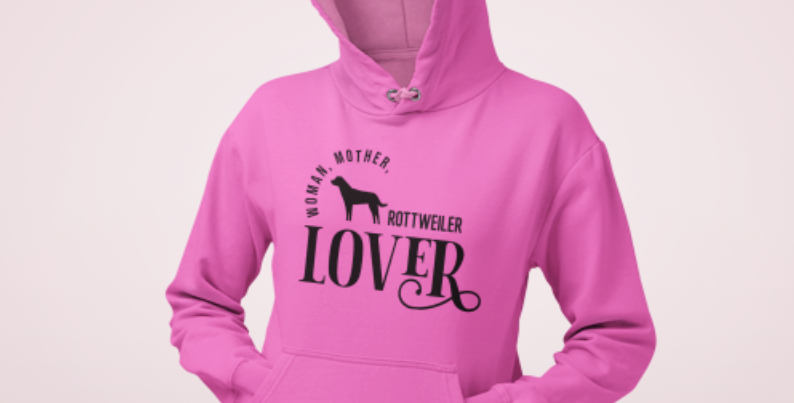 Woman, Mother Rottweiler Lover - Hoodie