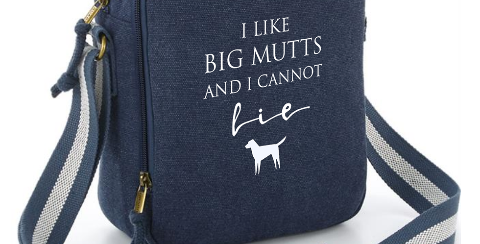 Big Mutts Denim Messenger