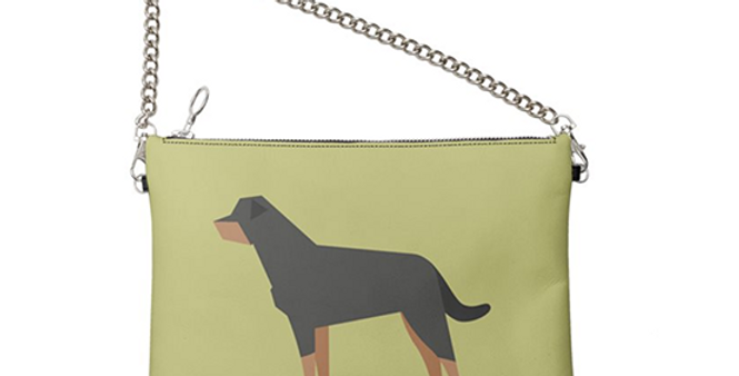 Colour Pop Leather Bag - Rock n Roll Rotties