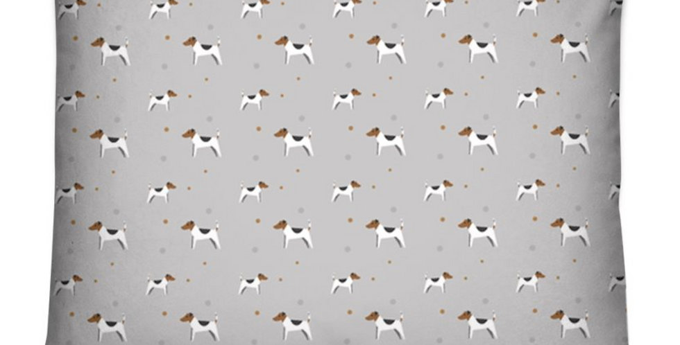 Grey Dog Bed Cushion - Jazzy Jacks