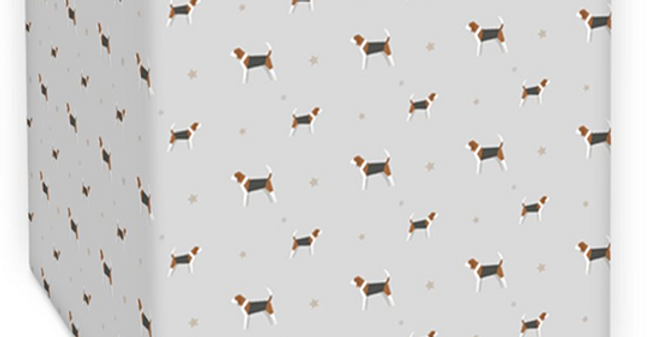 Grey Square Ceiling Shade - Busy Beagles