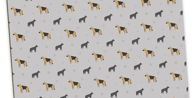 Grey Large Placemat Set (4) - Smart Shepherds