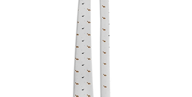 Grey Multi Tie - Scrumptious Springers
