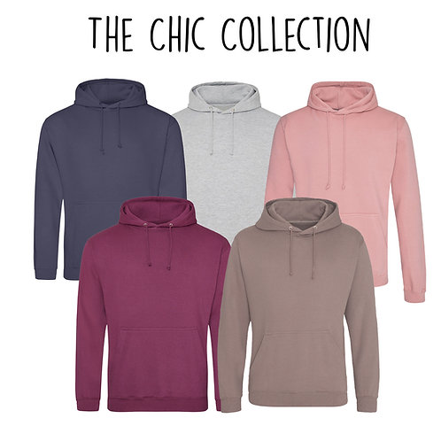 The Chic Hoodie  - Customise Me