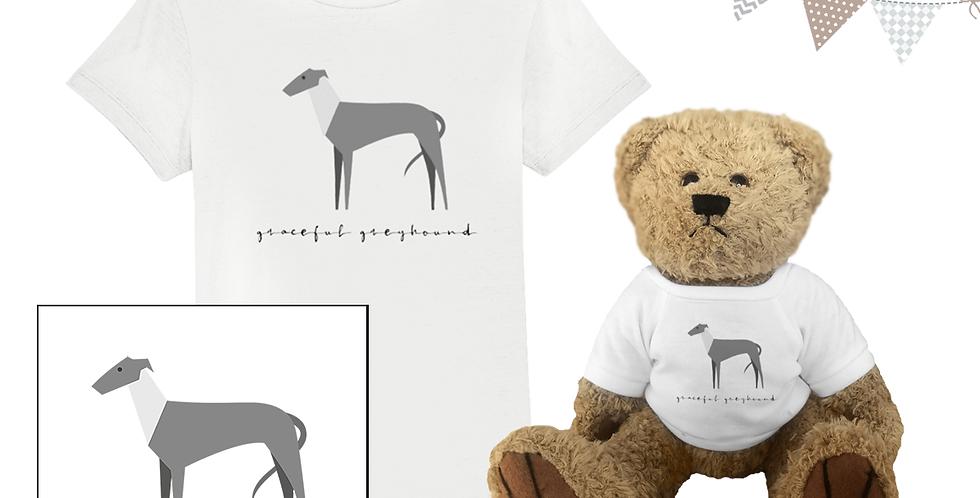 KIDS Teddy & Me - Graceful Greyhound