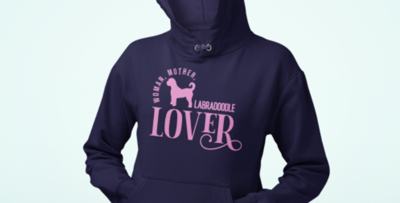 Woman, Mother Labradoodle Lover - Hoodie
