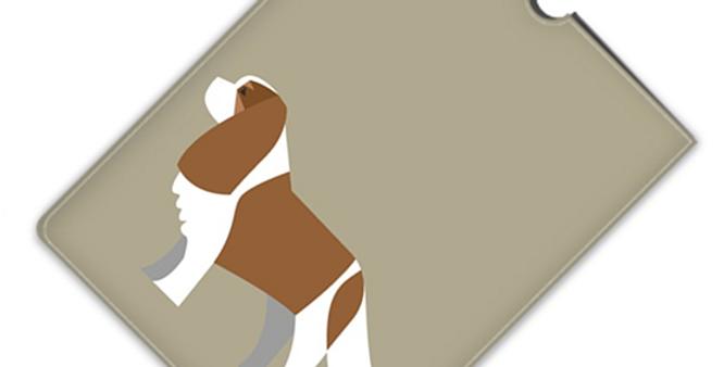 Leather iPad Case (Mini) - Keen King Charles