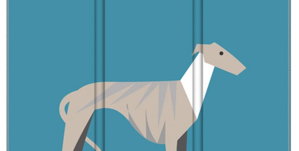 Room Divider Folding Screen - Whimsical Whippets