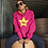 Thumbnail: Bright Star Pink/Neon Yellow Hoodie - ANY BREED