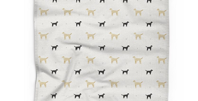 Cotton Linen Tea Towel - Lucky Labs