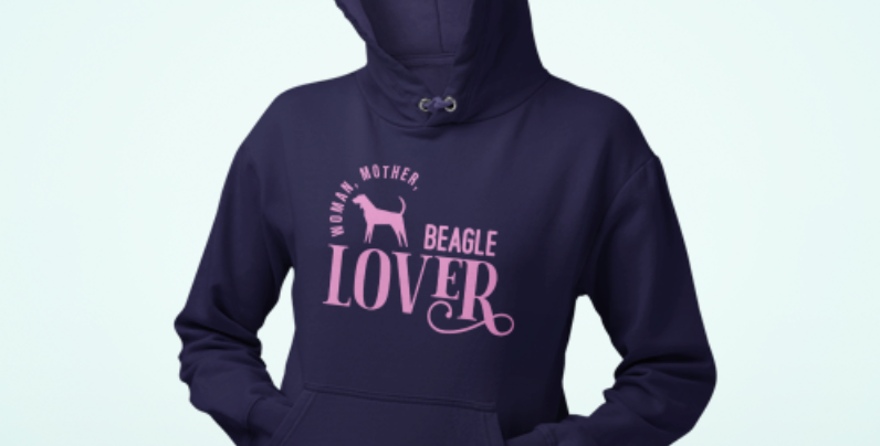 Woman, Mother Beagle Lover - Hoodie