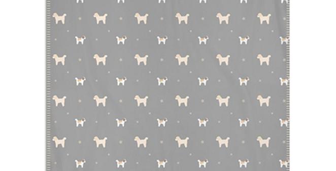 Grey Snuggly Fleece Blanket - Cuddly Cavachons