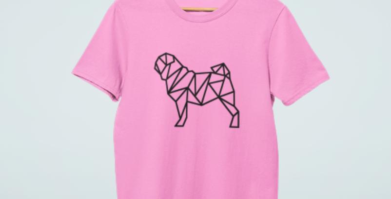 Fretwork Dog Tee - ANY BREED