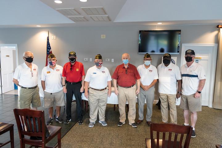 Leland VFW Celebrates First Veterans Day