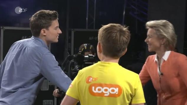 URSULA VON DER LEYEN I ZDF 2017