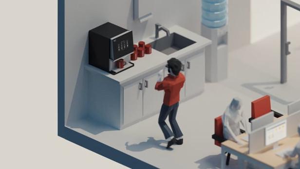 NESCAFE 3D Animation