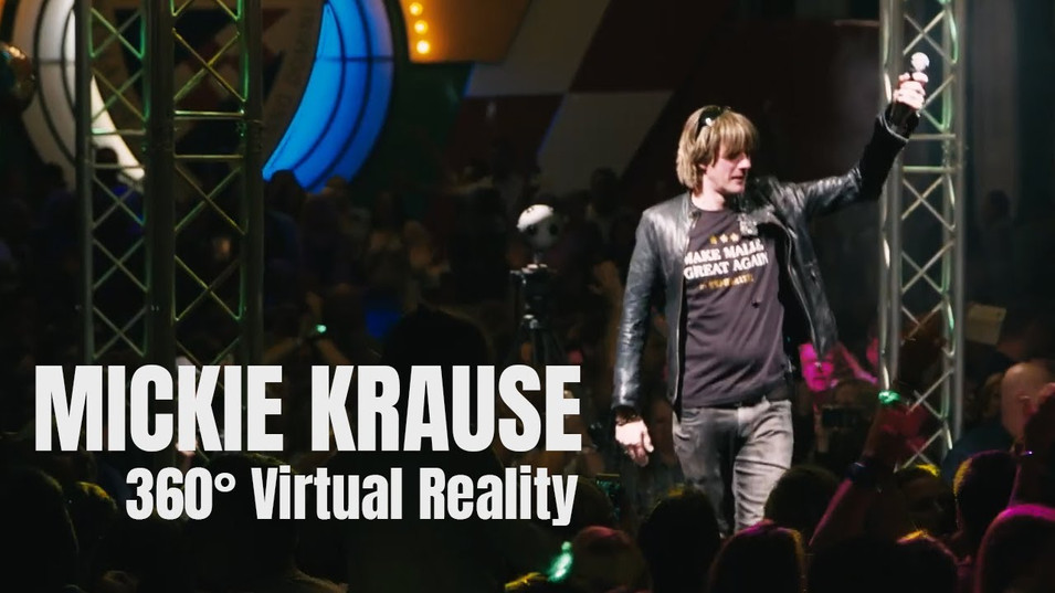 MICKIE KRAUSE 360° PERFORMANCE I BILK LIVE