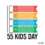 55 kids day