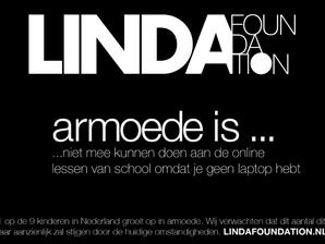 Wij zijn intermediar voor de Linda foundation