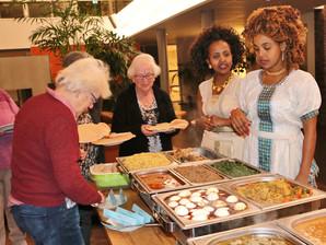 Druk bezochte Eritrese Meet & Eat