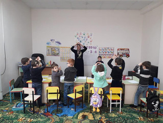 Детей с проблемами слуха, речи и зрения Чеченской Республики обучают грамоте и письму