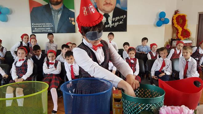Сотрудники «Исламик релиф» провели встречу со школьниками
