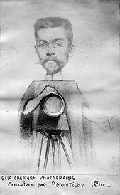 elie photographe  caricaturé en1890 b.jp