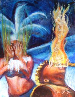 """""""Hawiian Fire Dancer"""""""