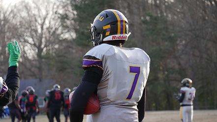 Player #7 of the Virginia Crusaders Semi-Pro Football Team