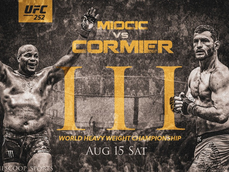 UFC 252: Miocic vs Cormier 3 Betting Guide