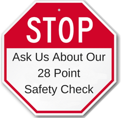 Ask Us About Our 28 Point Safety Check.p