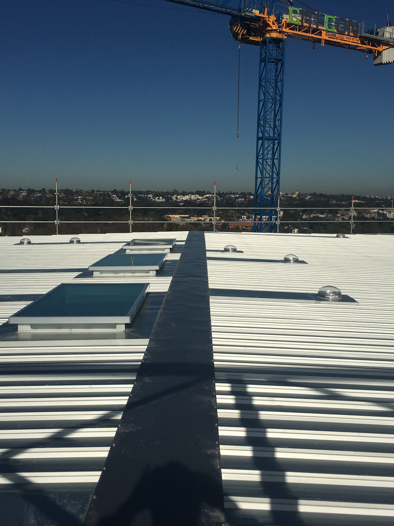 New metal KlipLok roof