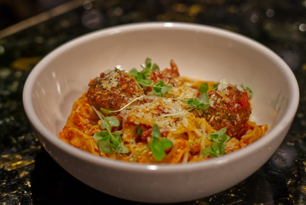 Tagliette With Mee-maw's Meatballs