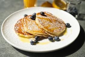 Blueberry Ricotta Pancake
