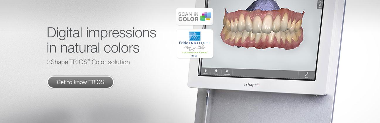 Trios Cart Color Intra oral Scanner