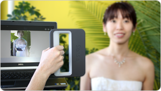 Sense Color 3D personal Scanner
