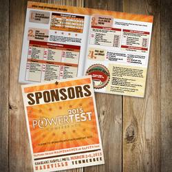 2015 PowerTest Sponsors brochure