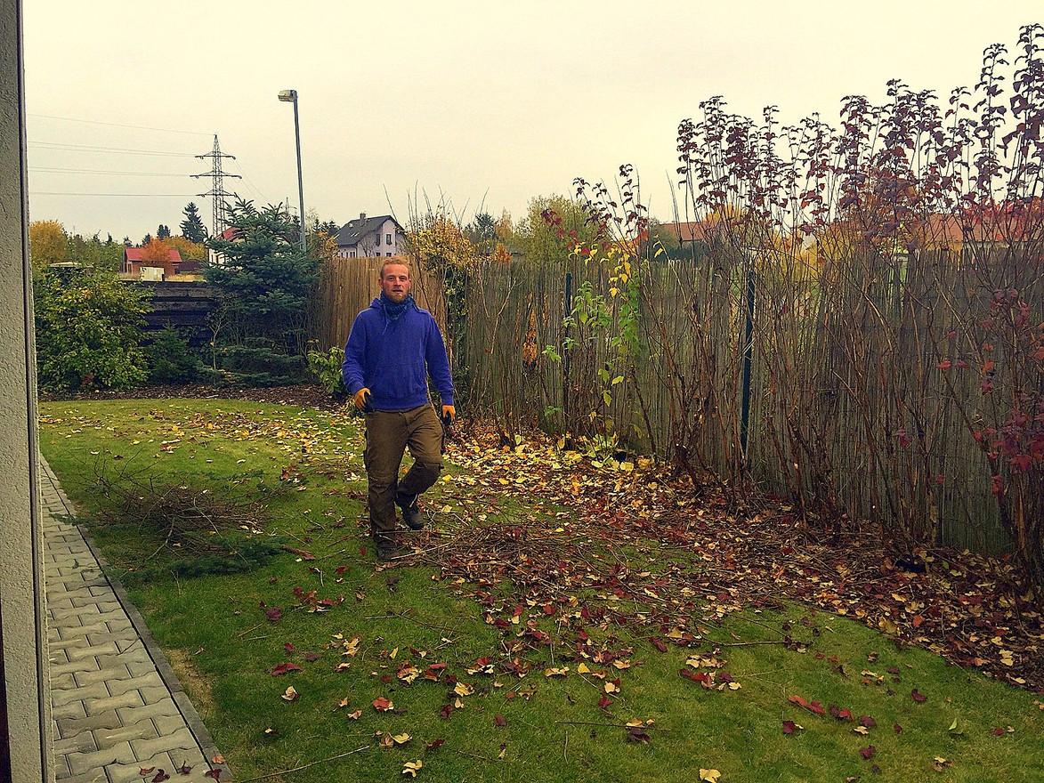 Podzimní údržba