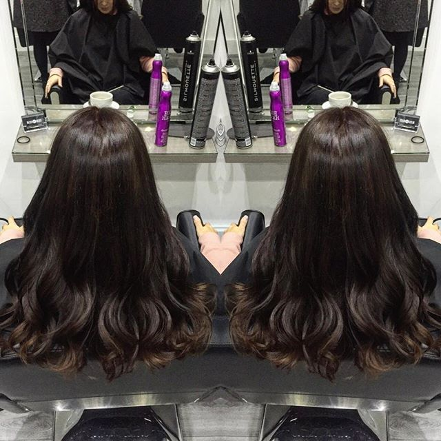 A nice change today for _sarah_purn ✔️_-_Colour by Jill_Cut and style by Lawson -_Contact us now for