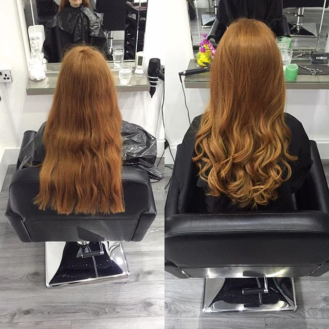 A nice little change today for a client 😍_-_Cut and style by Lawson_Colour by Jill -_Call now on 01