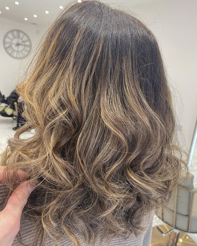 Lovely colour achieved by Jess today 😍_