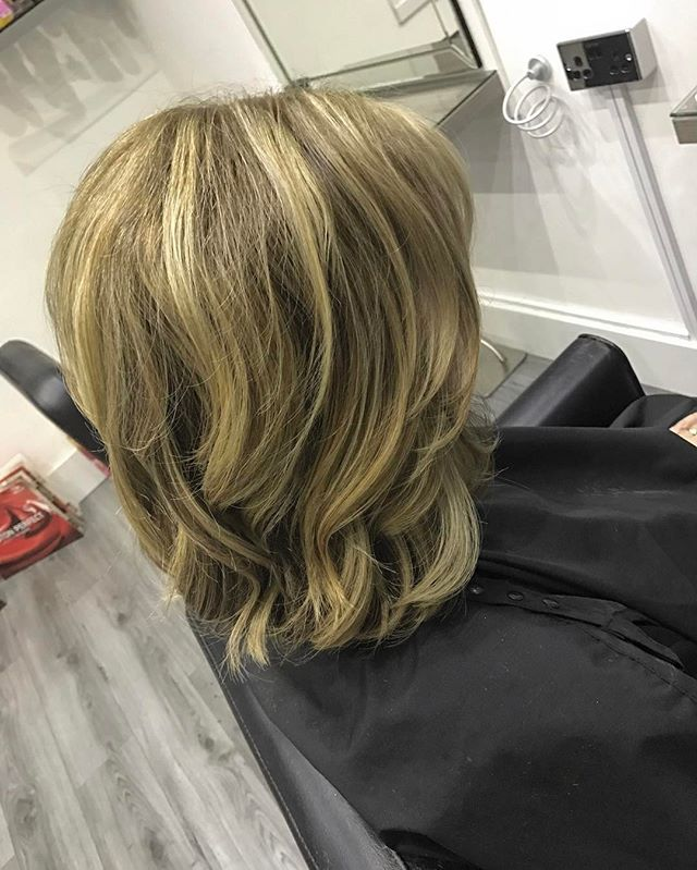___ B L I S S &  B L I S S ___ -_Wavy long bob with movement and volume for the lovely Julie 💆🏼_-_