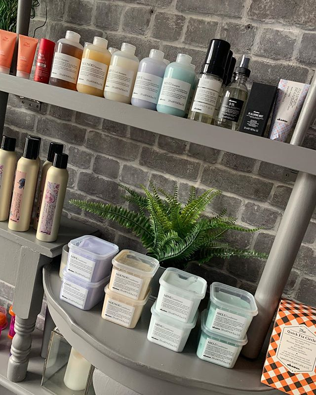 Our Lovely _davinesofficial range back i