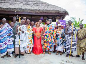 Atlanta Author Bridges Cultures with Ghanaian Chief to Promote Multicultural Children's Literature